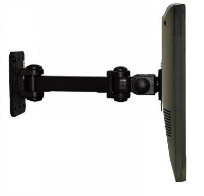 "DW120B 12"" Wall Monitor Arm & Bracket - Swivel - Tilt - Rotate - VESA 100 x 100 - Oceanpointe Distributors Corporation"