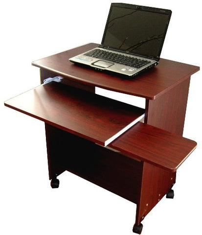 "S2718 26"" W. Narrow Compact Computer Desk w/ Mouse Tray - Free Shipping - Oceanpointe Distributors Corporation"