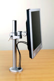 D720BK LCD Monitor Pole Desk Stand - Bolt-on Grommet Mount - VESA - Oceanpointe Distributors Corporation