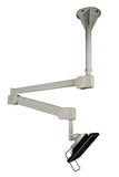 Long Reach Monitor Ceiling Arm Height Adjustable Hospital Bed