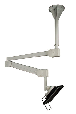 Long Reach healthcare Monitor Ceiling Arm Height Adjustable Hospital Bed