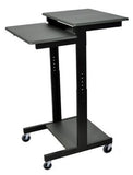 "C PS3945 24"" W. Standing Height Adjustable Mobile Computer Desk Workstation - Oceanpointe Distributors Corporation"
