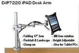 D-IP VESA Ipad 1 & 2 Holder: attach an IPad to a VESA Mount