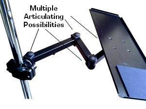 24 Quot Pole Or Wall Keyboard Arm 100 Metal Oceanpointe