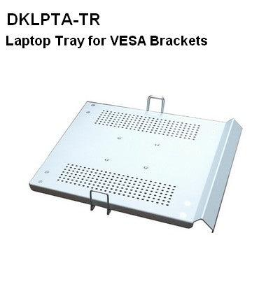 DLPTA-TR Laptop Tray for Arms with VESA 75x75 brackets - Oceanpointe Distributors Corporation