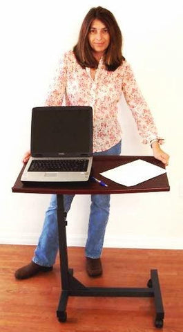 LM1 Sit or Stand or Lay in Bed Laptop Bed Tray Table