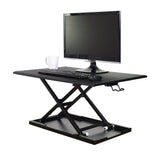"C_LVLUP32-BK 32"" Adjustable Sit to Stand Desk- Height Riser - Oceanpointe Distributors Corporation"