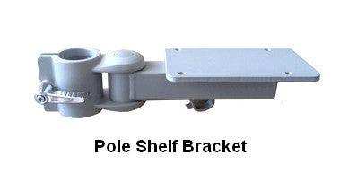 DVC03-SHBR Pole Bracket for Shelves or Devices - Oceanpointe Distributors Corporation