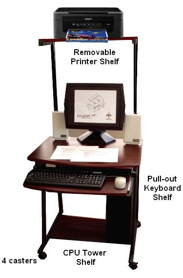 New Compact Computer Desk Decorating Ideas