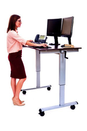 C Standup Cf48 Dw 48 Quot Sit To Stand Crank Height Adjustable