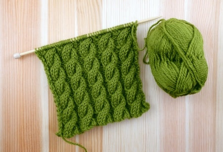 Stay Warm This Winter With Cable Knit Mittens