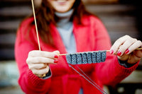 The Joy of Outdoor Knitting
