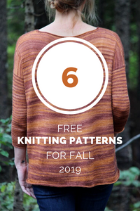 Six Free Knitting Patterns for Fall 2019
