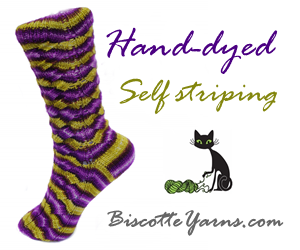 An online yarn shop is very convenient!