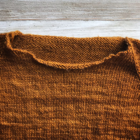 How to Perfect a Neckline when Picking up Stitches