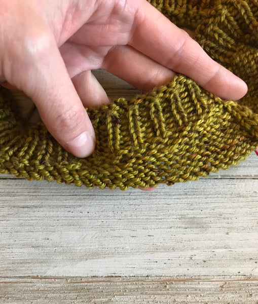How to Knit Japanese Short Rows in the Round