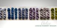 100% brushed cashmere hand-dyed yarn