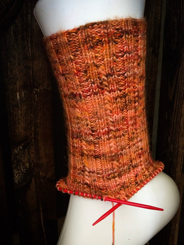 Speckled SKYP Socks on Neko Needles