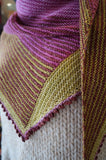 Biscotte Paintbox shawl pattern - Biscotte yarns  - 3