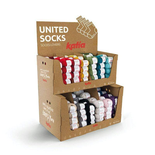 United Socks - mini sock yarn balls by Katia