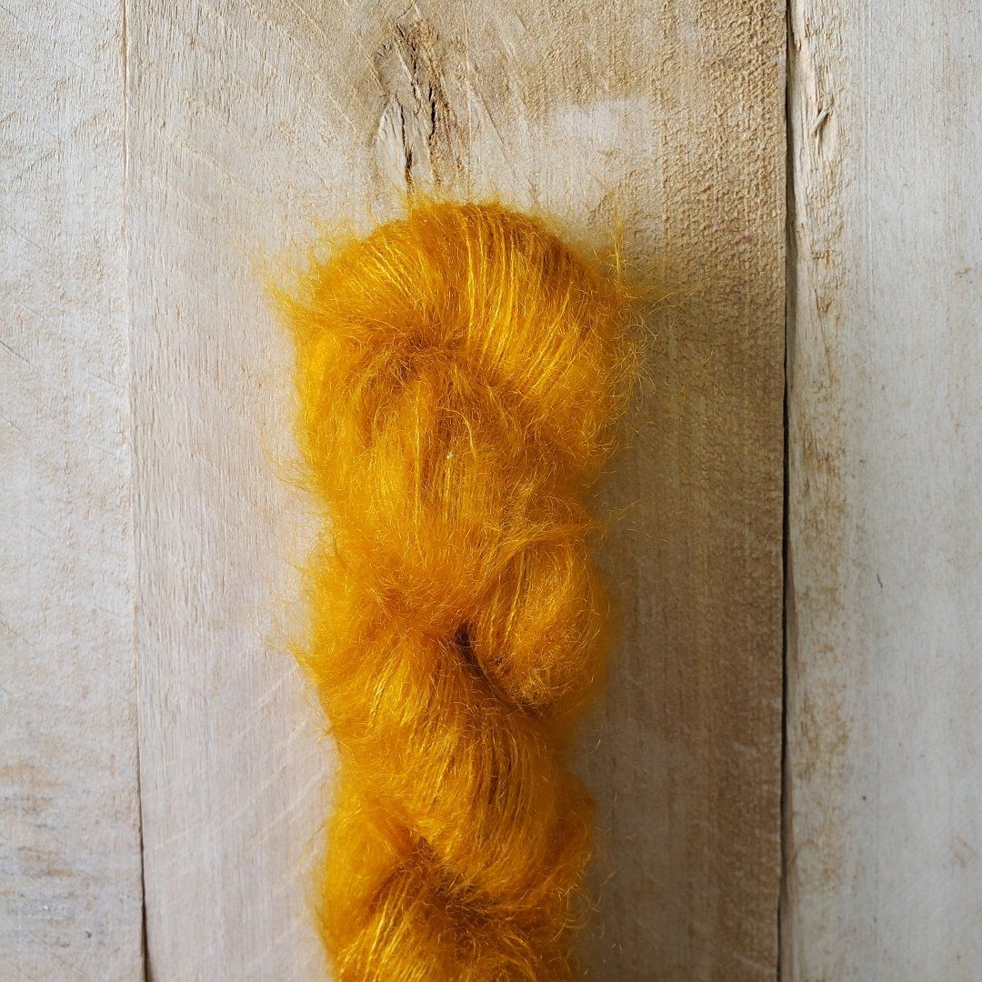 Hand-Dyed Kid Silk Yarn | Hermione VITAMINE C