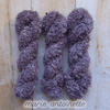 MARIE ANTOINETTE by Louise Robert Design | BOUCLE MOHAIR hand-dyed semi-solid yarn