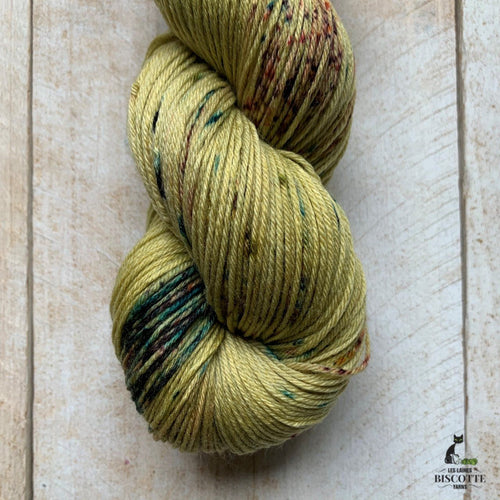 Bis-Sock PHEASANT | hand-dyed Speckled sock yarn | 100g (2x50g) / 50g (mini skein)