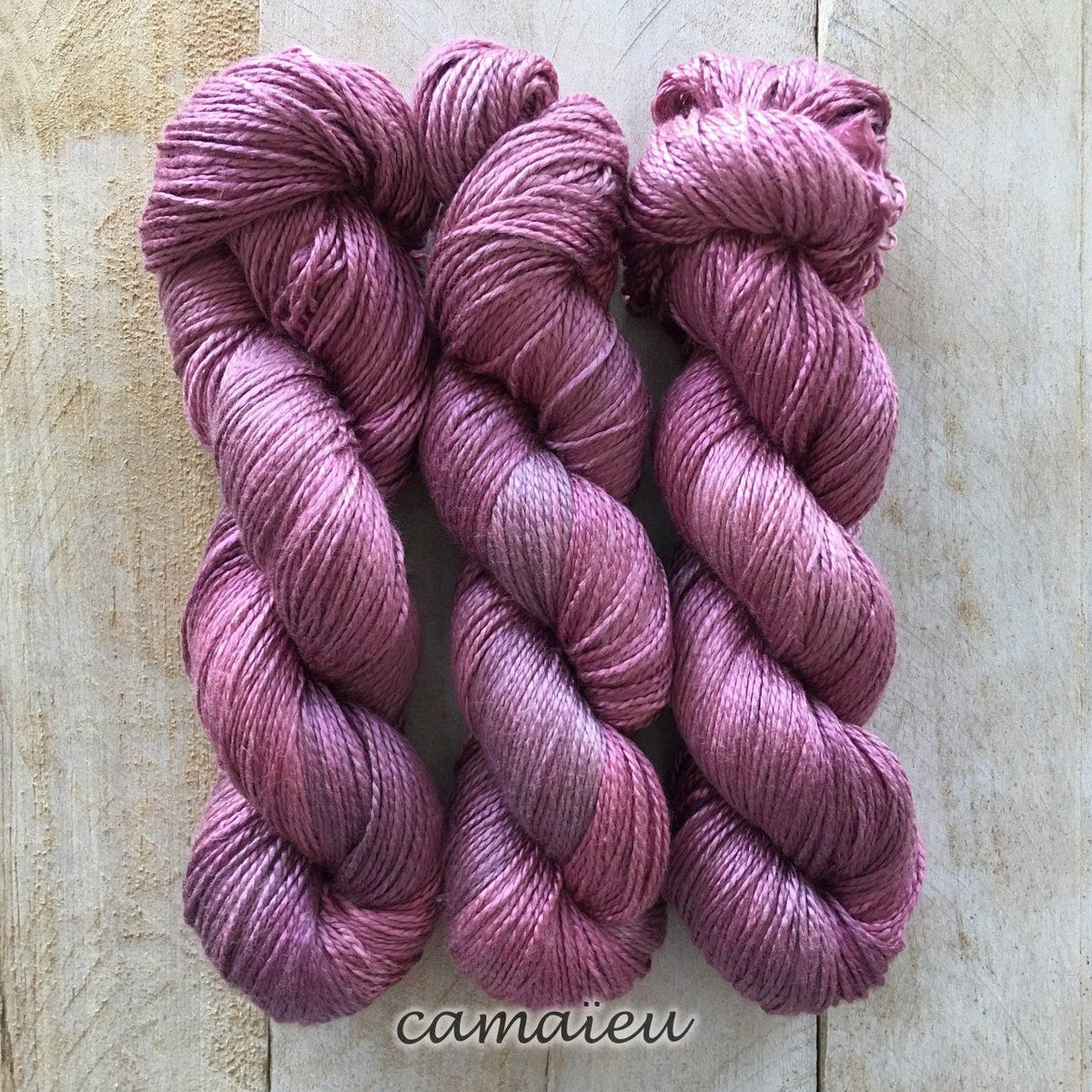 CAMAÏEU by Louise Robert Design | ALGUA MARINA hand-dyed Variegated yarn