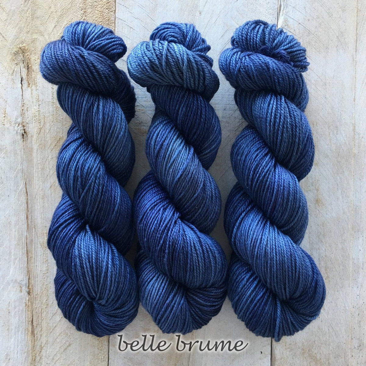 BELLE BRUME by Louise Robert Design | DK PURE hand-dyed semi-solid yarn