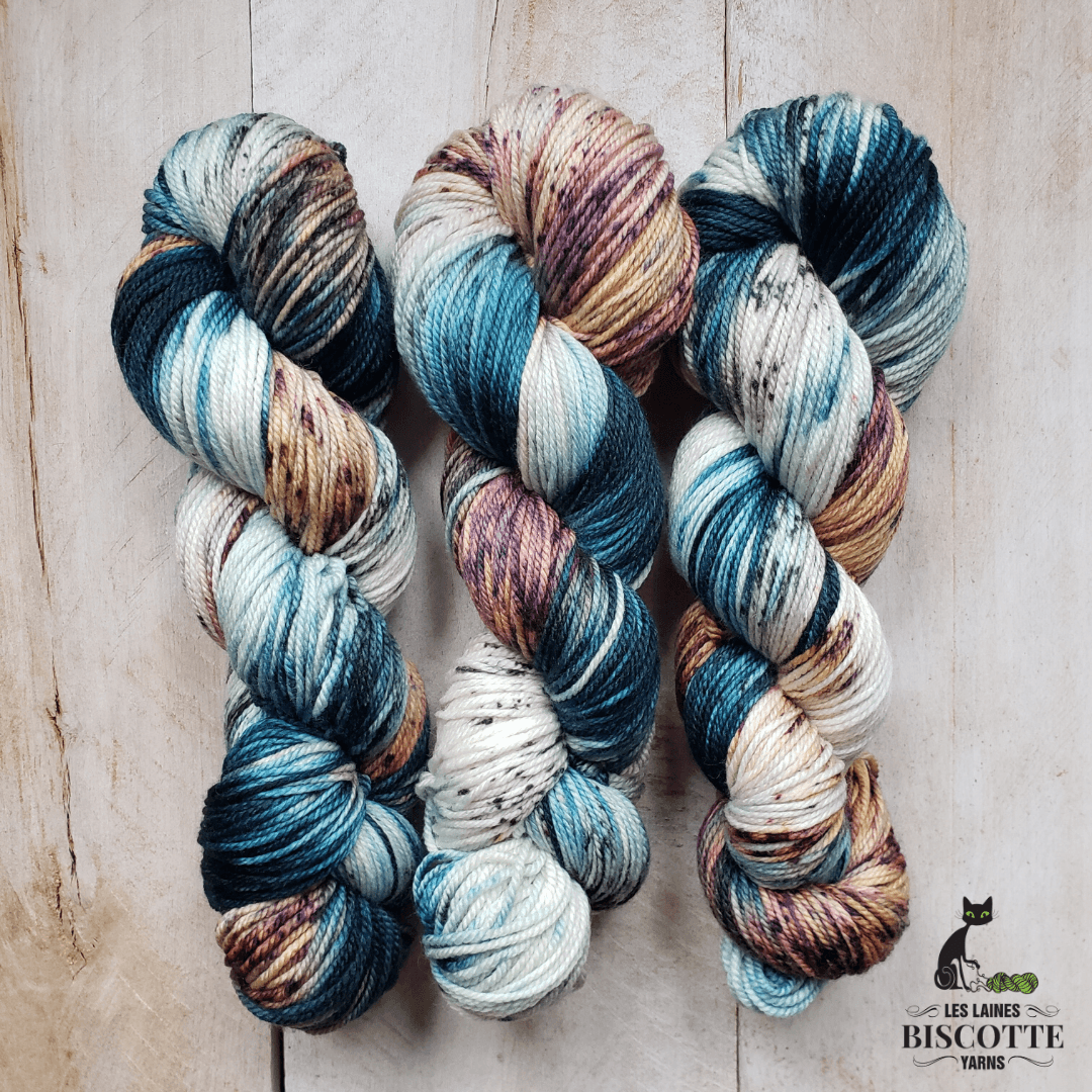 DK PURE | NELLY hand-dyed speckled yarn
