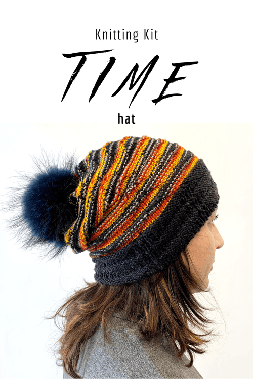 TIME Hat | Knitting Kit