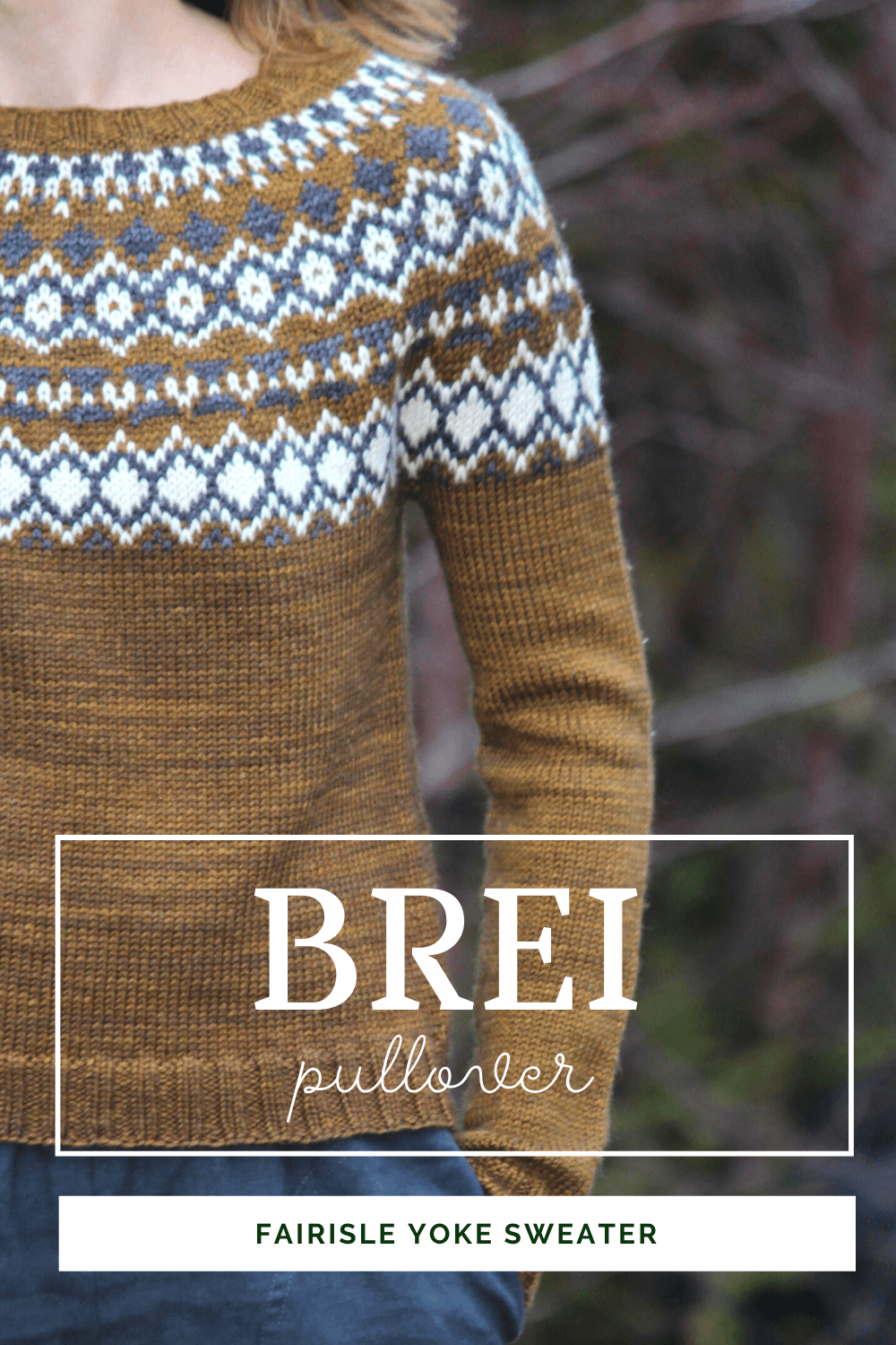 Brei Pullover | Knitting Pattern
