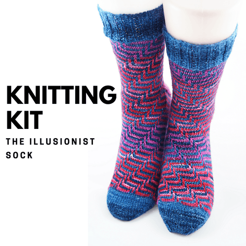 The Illusionist Sock | Knitting Kit