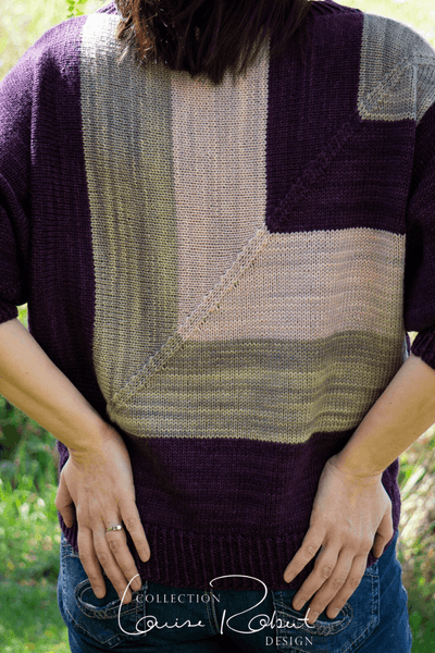 Fair and Square Dolman Pullover | Knitting Pattern