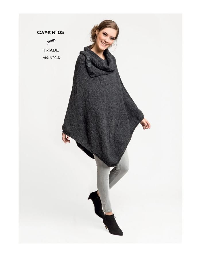 Free Cheval Blanc pattern - Cape - Cat. 26-05