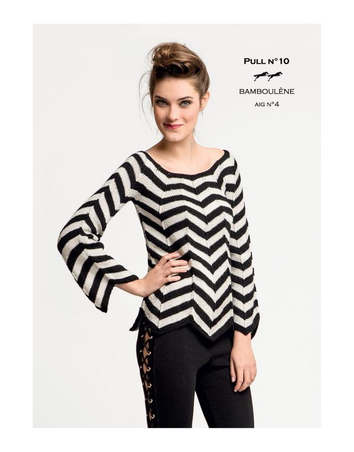 Free Cheval Blanc pattern - Pull - Cat. 26-10