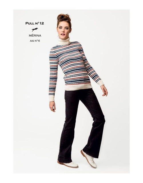 Free Cheval Blanc pattern - Pull - Cat. 26-12