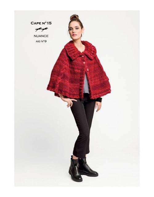 Free Cheval Blanc pattern - Cape - Cat. 26-15