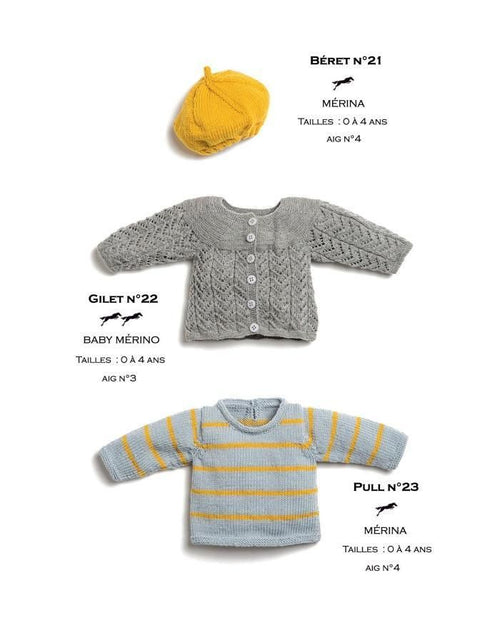 Free Cheval Blanc pattern - Cardigan - Cat. 26-22