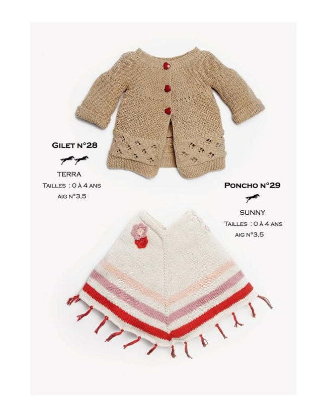 Cheval Blanc pattern Cat. 27-28 - Cardigan