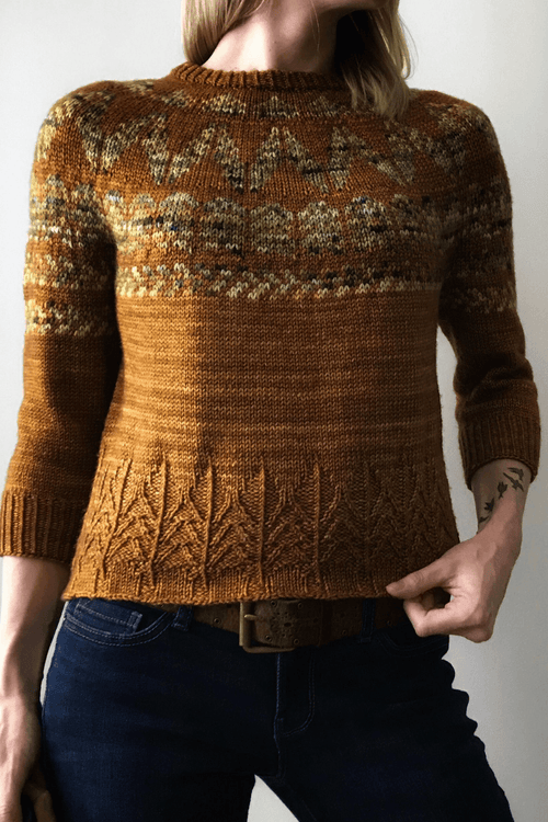 Pinewood Pull | Free Knitting Pattern