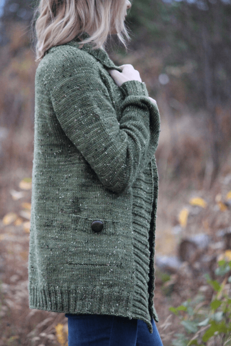 Kalamata Cardigan | Knitting Pattern