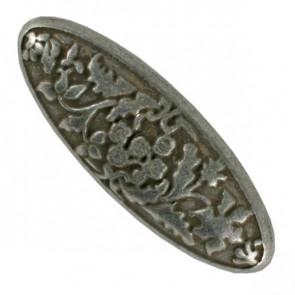 Antique style Long Oval shank Button, 18mm, 311047