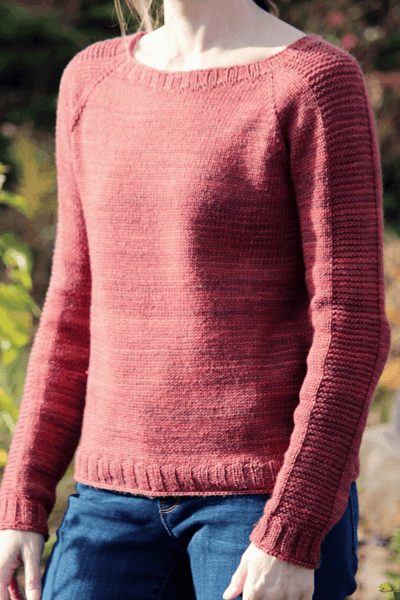 Reagle Raglan | Knitting Pattern