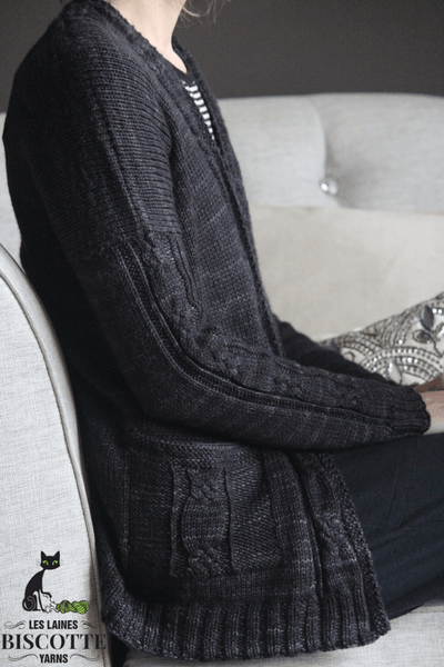 Cozy Cabled Cardigan | Knitting Pattern