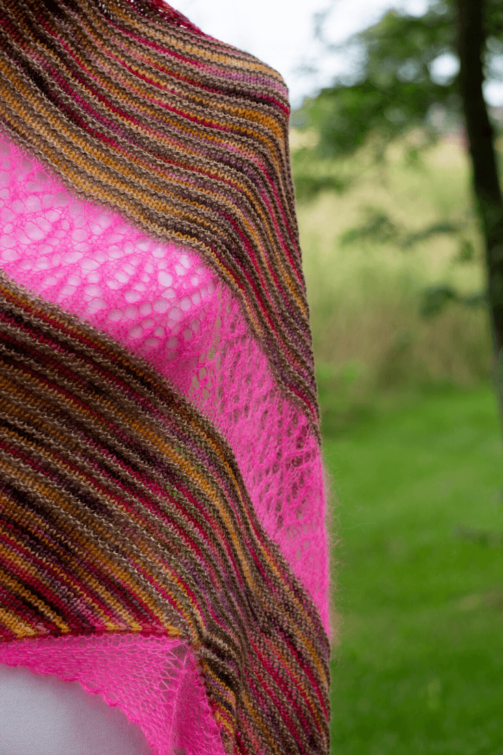 Rising Sun Shawl | Knitting Pattern