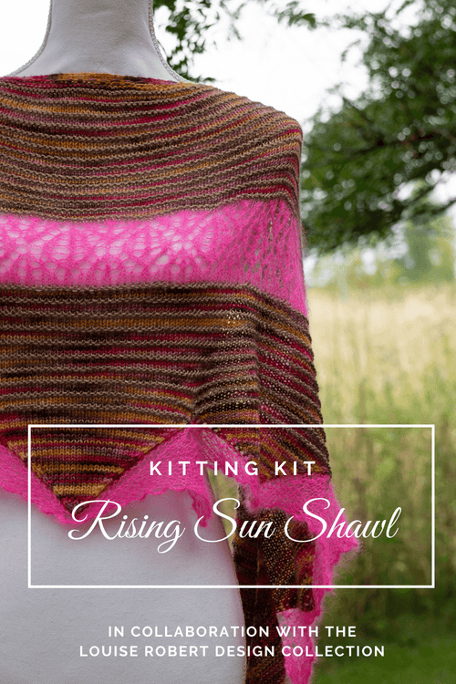Rising Sun Shawl | Knitting Kit