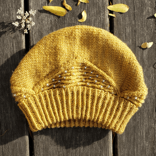Tourmaline Hat | Free Knitting Pattern