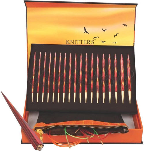 "Knitter's Pride - Limited Edition - ""The Golden Light"" Interchangeable Needle Set"
