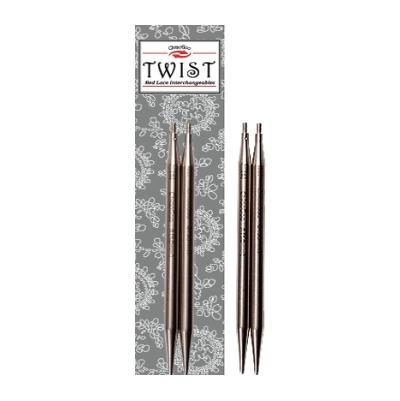 ChiaoGoo Interchangeable knitting needles TWIST SS Lace Tips 4'' (10cm)